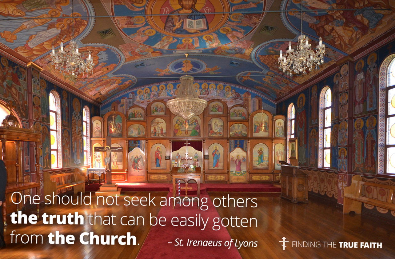 A catechumen begins learning in the Church